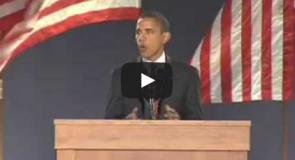 【名スピーチ和訳】「Yes We Can」シカゴでのオバマ大統領勝利宣言スピーチ